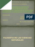 Exposc 1 - Filisof de Las Cs Nat