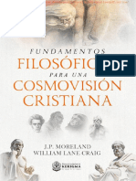 Fundamentos Filosóficos Para Una Cosmovisión Cristiana - J. P. Moreland