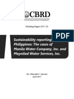 Sustainability Reporting in the Philippines
