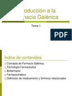 Tema 1 Introdccion a La Farmacia Galenica OCW