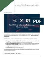Blog.jscrambler.com-Reaccionar Native vs Ionic vs NativeScript Una Guía Práctica