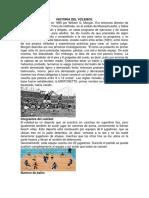 Historia Del Vóleibol