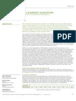 Vanhoucke Et Al,Introduction to Earned Duration