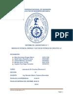 informe 1. Laboratorio de Mecánica