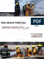 Brochure Fire Group Peru
