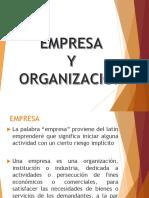 empresa y organizacion