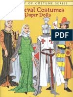 (Dover coloring book)  - Medieval Costumes Paper Dolls-Dover (1996).pdf
