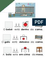 Aprender Locativos - Dentro Em Cima Debaixo