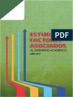 Informe de Factores Asociados al Rendimiento Académico 2017