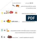 Vitaminas y Minerales 5ºbasico