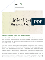 Harmonic analysis of %22Infant Eyes%22 by Wayne Shorter | Improvise for Real.pdf