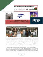 JACAL - Comunidad Viatoriana de Jutiapa (Honduras) - Nº 29 - Diciembre 2018