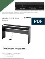 Yamaha P-45 B Home Bundle – Thomann España
