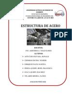 Estructuras de Aceros