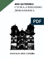 Gutierrez Ramon Arquitectura y Urbanismo en Iberoamc3a9rica