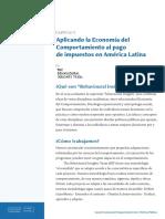 GRUPO 3 Economía Del Comportamiento-Políticas Públicas