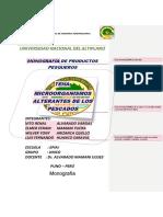 Microorganismos Alterantes de Los Pescados[1]