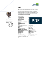 Product Spec or Info Sheet - 5585