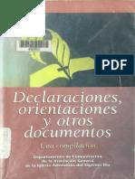 Declaraciones IASD