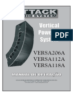 Manual Caixa Versa