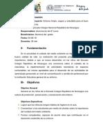 Proyecto - ENTORNO SALUDABLE PARA NIÑOS ESCOLARES
