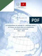 La construction du concept d'« Amerique latine ». La France, les États-Unis et la latinisation du continent américain. 1823-1914