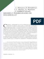 Postigo, J.C. & Montoya, M. (2009) Conflicto en la Amazonía. Un análisis desde la ecología política. Debate Agrario N° 44 (Nov)