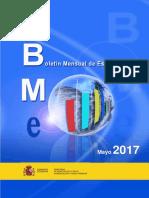Boletin Mensual de Estadistica 2017-05 Tcm7-459051