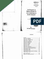 A Autobiografia-De Malcolm X -Alex Haley