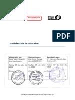 APE 1.5 Desinfección de Alto Nivel HRR V1 20123