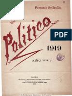 El Año Político. 1919 (Conferència Salvador Seguí)