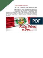 Fiesta Patrias en El Peru