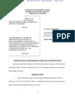 US DOJ Intervenor Complaint