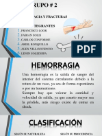 Hemorragias y Fracturas