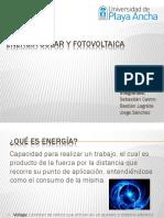 Energia Solar y Fotovoltaica