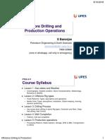 PTEG411 Offshore Drilling Production Aug2018 Lesson 0