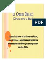Apologetica_4 El Canon Bíblico