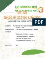 Correccion Del Examen Practico c1 Pcp