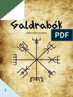 Enviando Galdrabók 2.0