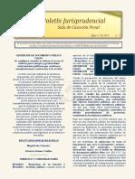 Boletin Jurisprudencial 2019-05-17