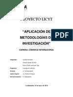 LICYT Investigación aplicada
