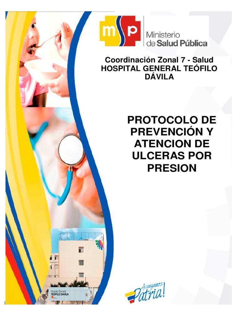 Protocolo de Prevencin y Atencion de Ulceras Por Presion..