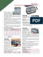 Catalogo de Accesorios Del PTE 100 C
