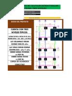Cuadro Resumen de Calculos Estructurales