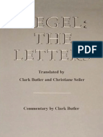 HEGEL - The Letters