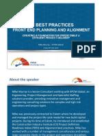 PMSA knowledge package