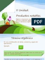 Ppt_algebra 1 Medio