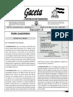 Codigo Penal de Honduras 2019