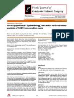 Appendicitis treatment