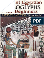 Ancient Egyptian Hieroglyphs for Beginners - Medtu Neter.epub